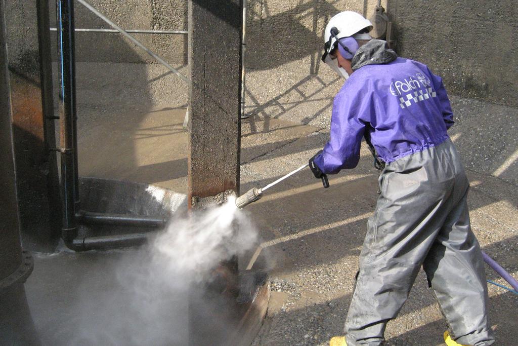 Elimine concreto dañado, sin dañar la varilla